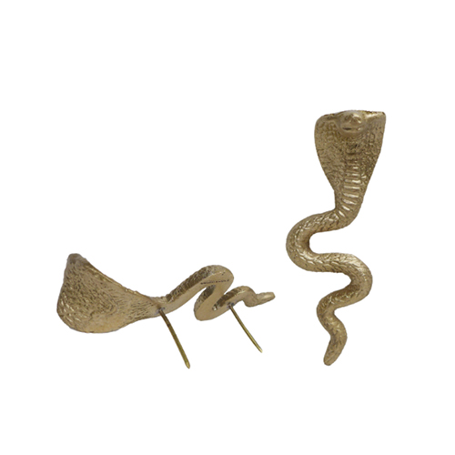 DAKOTA SNAKE CANDLE PIN