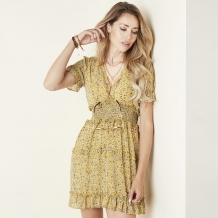BABYDOLL DRESS - YELLOW
