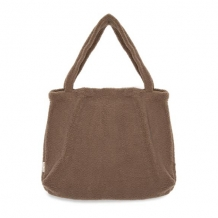 STUDIO NOOS - BROWN CHUNKY TEDDY MOM BAG